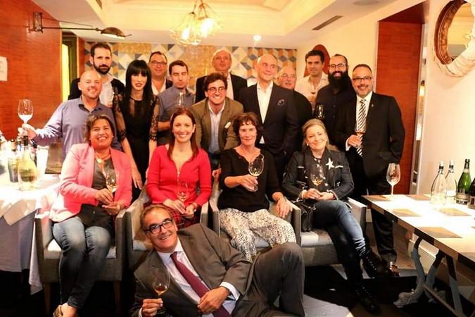 Primera presentación de Enociones con la presencia de todas sus Bodegas y Bodegueros en el Restaurante La Lonja del Mar en Madrid